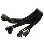 Noordpool 5-Way PWM Splitter Cable Black/Black, дополнительное фото 2