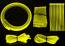 Vizo Starlet Cable Binding Kit UV Yellow